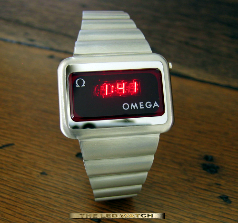 Stainless steel Omega Digital 1602.