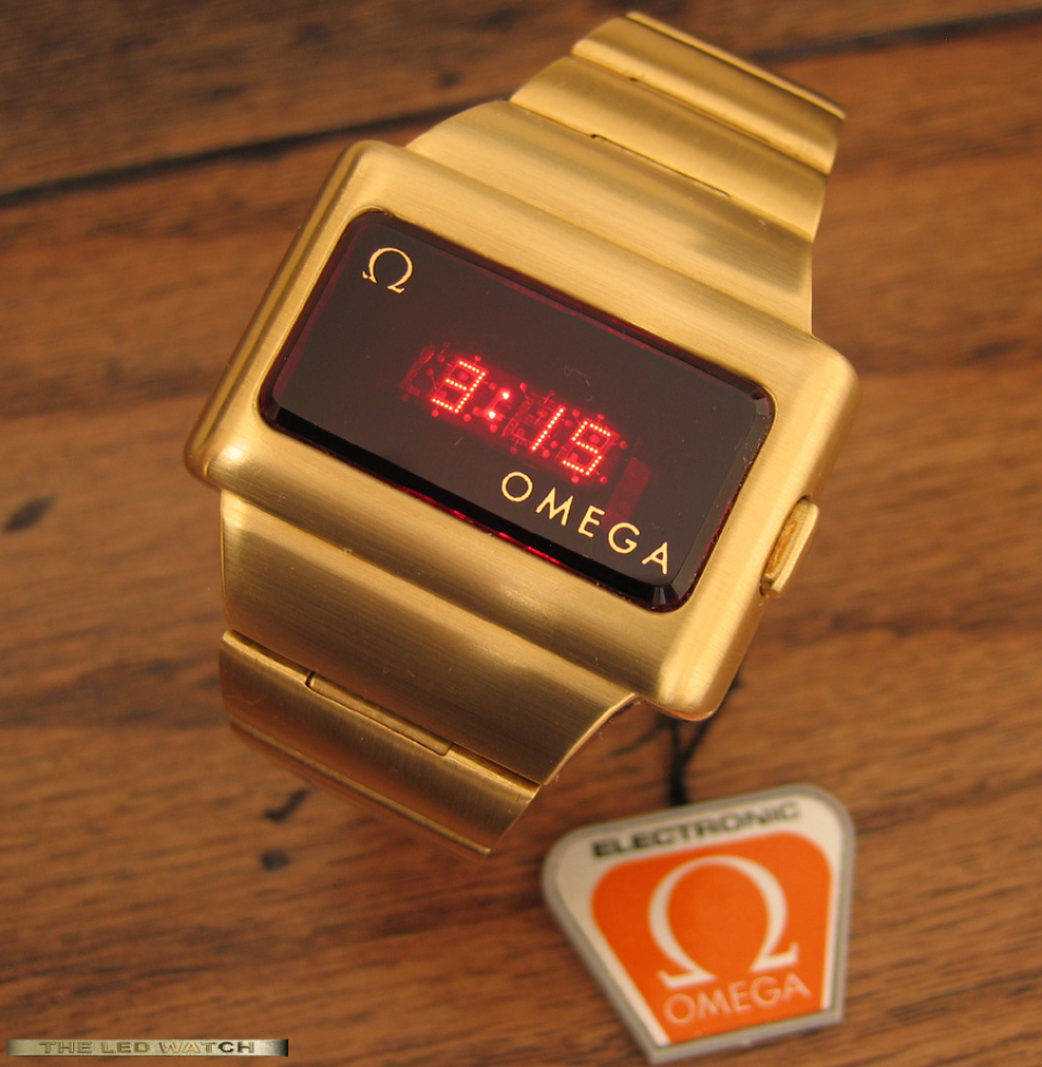 Omega TC-1 18K Solid Gold.