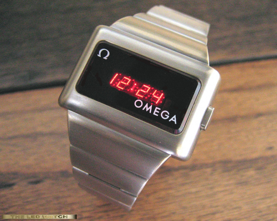 Omega TC-1 white gold-fill.