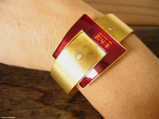Andrew Grima LED watch.