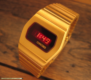 Concord LED Watch.