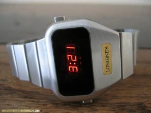 Longines LED watch.
