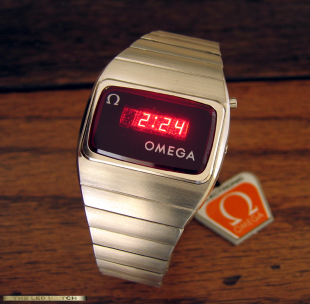 Stainless Steel Omega Digital II.