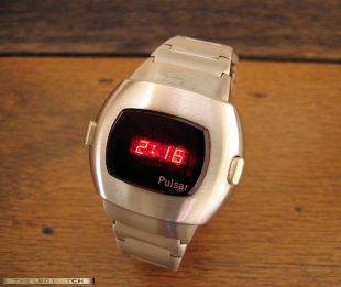 Pulsar Stainless Steel Date Command.