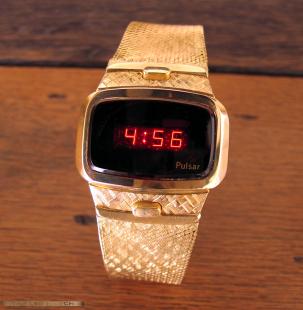 Pulsar Solid Gold Dress model.