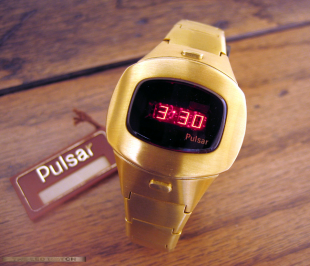 Pulsar P-4 Auto Command 18K Solid Gold.